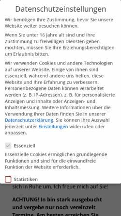 Vorschau der mobilen Webseite dr-med-heike-melzer.de, Fachärztin für Neurologie, Psychotherapie - Dr. med. Heike Melzer