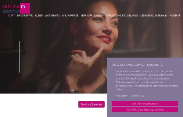 Vorschau von www.tanzschule-sabrina-m.de, Sabrina