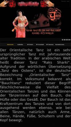 Vorschau der mobilen Webseite yasirah.de, Yasirah