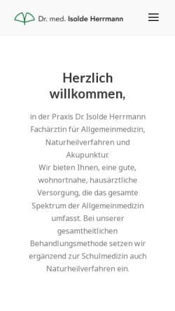 Vorschau der mobilen Webseite www.praxis-im-holzhaus.de, Praxis im Holzhaus