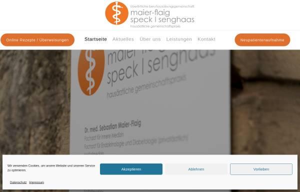 Vorschau von www.maier-flaig.de, Psychoanalyse und Tiefenpsychologisch fundierte Psychotherapie - Günther Maier-Flaig