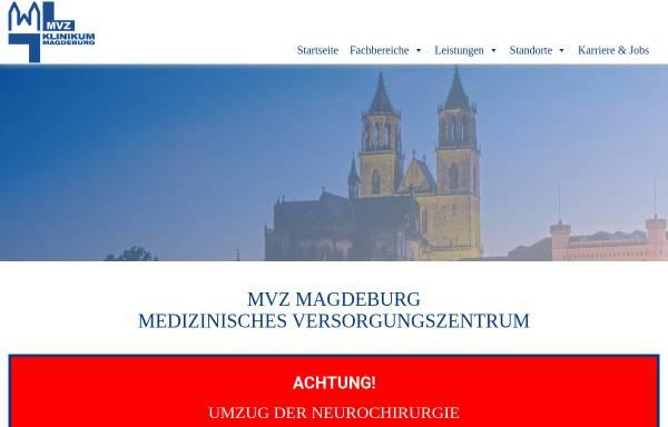 Vorschau von www.mvz-klinikum-magdeburg.de, Städtisches Klinikum Magdeburg