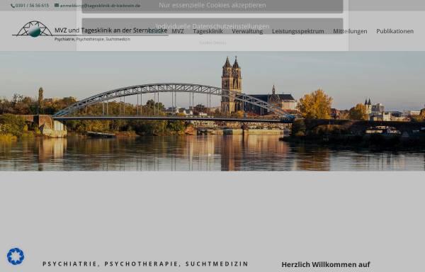 Vorschau von www.suchttagesklinik.de, Tagesklinik an der Sternbrücke Dr. Kielstein