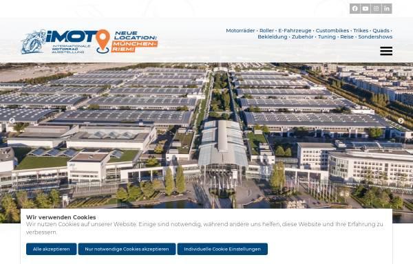 Vorschau von www.imot.de, Internationale Motorradaustellung