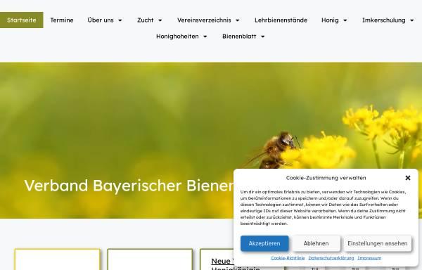 Vorschau von www.v-b-b.net, Verband Bayerischer Bienenzüchter