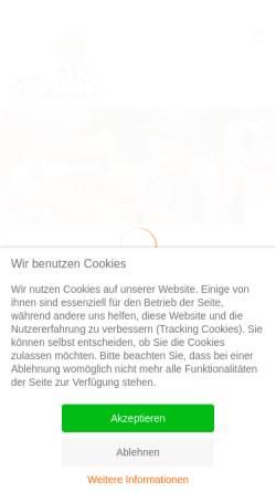 Vorschau der mobilen Webseite kita-kinderland-beelitz.de, KiTa »Kinderland« Beelitz