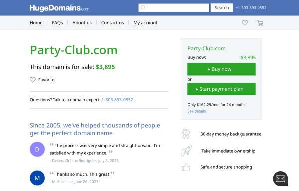 Vorschau von capitol.party-club.com, Capitol Party-Club