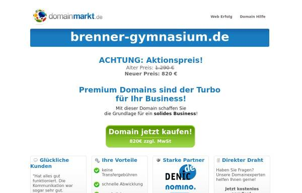 Vorschau von www.brenner-gymnasium.de, Otto Brenner Gymnasium