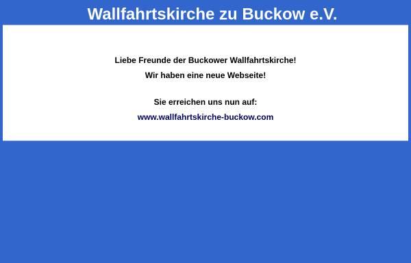 Vorschau von www.wallfahrtskirche-buckow.de, Förderverein Wallfahrtskirche zu Buckow e.V.