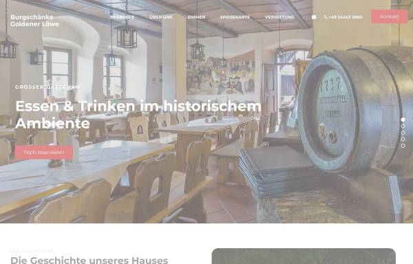 Burgschänke & Herberge Goldener Löwe: Bad Düben, Städte und ...