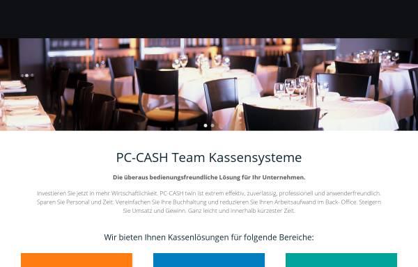 Vorschau von www.pc-cash-team.de, PC-CASH Computerkassensysteme