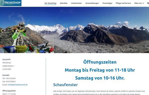 Vorschau von www.reiseshop-kiel.de, Reise Shop Kiel