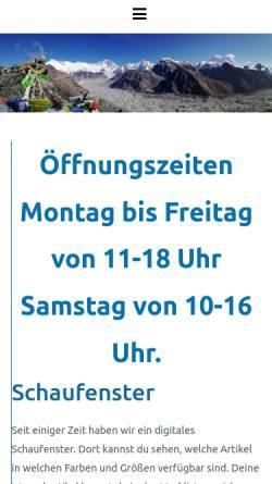 Vorschau der mobilen Webseite www.reiseshop-kiel.de, Reise Shop Kiel