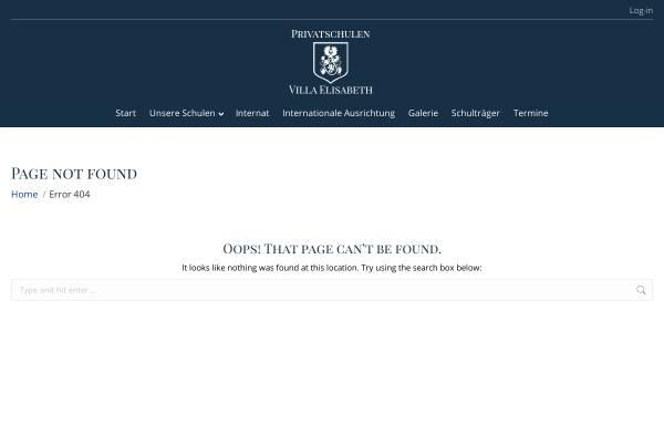 Vorschau von privatschulen-ve.de, Gymnasium Villa Elisabeth
