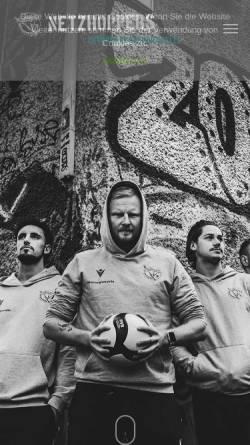 Vorschau der mobilen Webseite www.netzhoppers.org, Netzhoppers Königs Wusterhausen e.V.