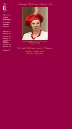 Vorschau der mobilen Webseite www.potsdamer-hofkonzerte.de, Potsdamer Hofkonzerte