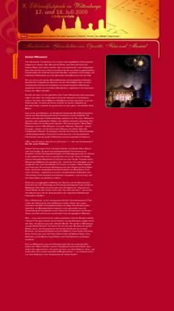 Vorschau der mobilen Webseite www.kfh-wbge.de, Internationales Operettenfestival