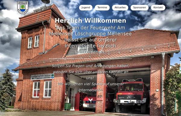 Vorschau von www.feuerwehr-mellensee.de, Freiwillige Feuerwehr Mellensee