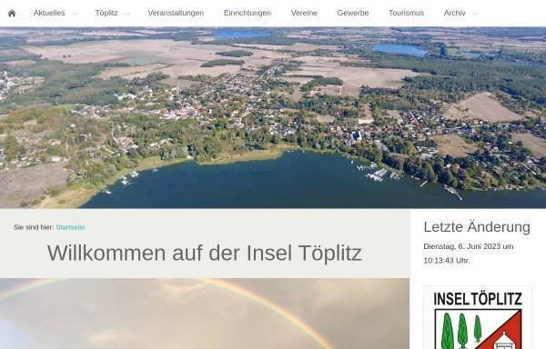 Vorschau von www.toeplitz-portal.de, Töplitz-Portal