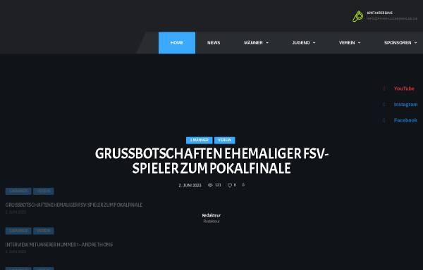 Vorschau von www.fsv63-luckenwalde.de, Luckenwalder Sportverein FSV63