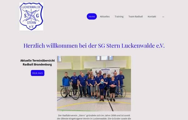 Vorschau von www.sg-stern-luckenwalde.de, SG Stern Luckenwalde