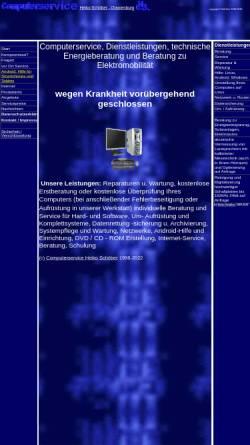 Vorschau der mobilen Webseite www.hs-computerservice.de, Computerservice Heiko Schöber