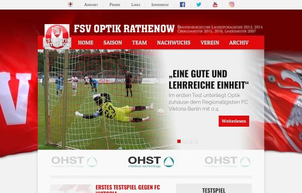 Vorschau von www.fsv-optik.de, FSV Optik Rathenow