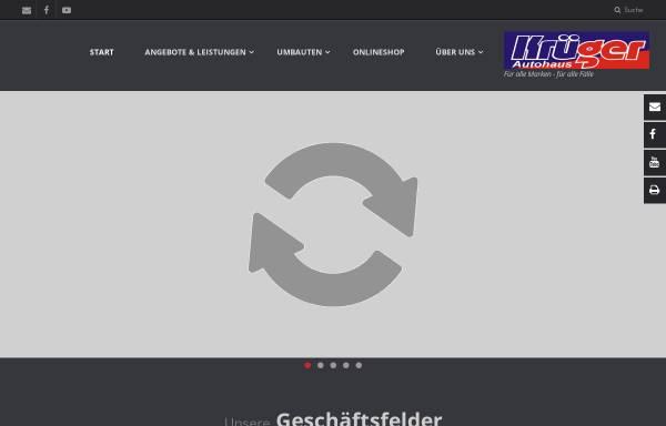 Vorschau von www.krueger-autohaus.de, Autohaus Krüger GmbH