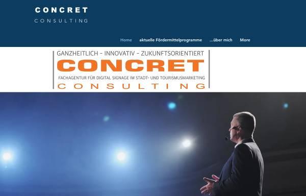 Vorschau von www.concret-consulting.de, Concret Consulting GmbH