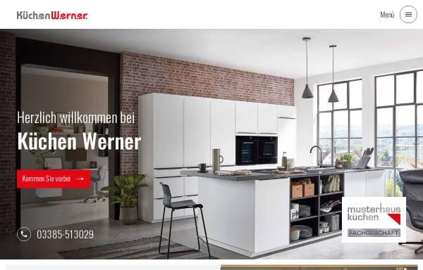 Vorschau von www.kuechenwerner.de, Küchen Werner. Technische Geräte Werner GmbH
