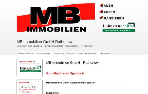 Vorschau von www.mb-immobilien-gmbh.de, MB-Immobilien GmbH