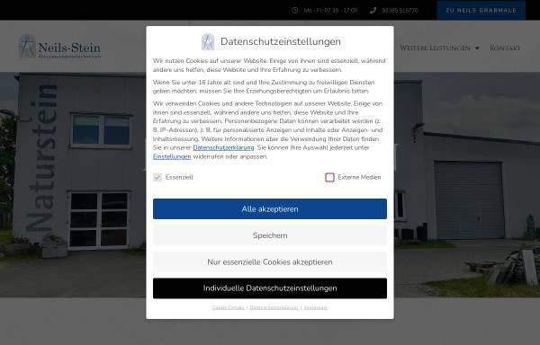 Vorschau von www.neils-stein.de, Neils Stein GbR