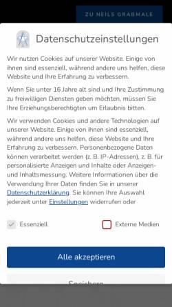Vorschau der mobilen Webseite www.neils-stein.de, Neils Stein GbR