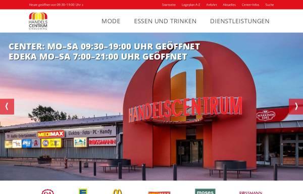Vorschau von www.handelscentrum.de, Handelscentrum Strausberg