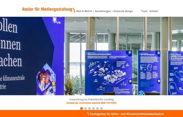 Vorschau von www.afm-koeln.de, Atelier für Mediengestaltung Doering, Kern, Günther GbR