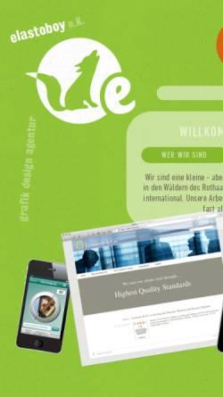 Vorschau der mobilen Webseite www.elastoboy.de, Elastoboy GmbH
