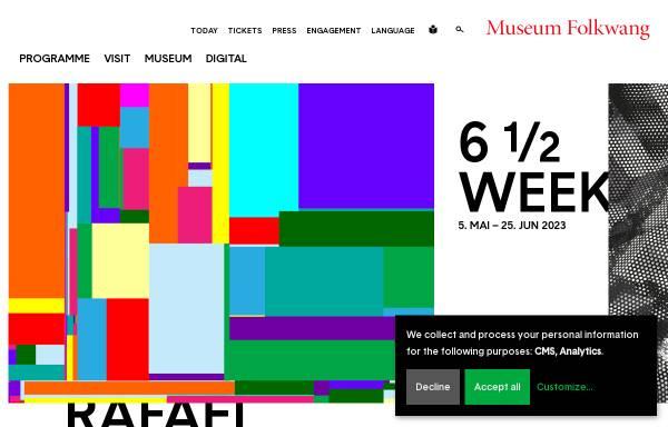 Vorschau von www.museum-folkwang.de, Folkwang Museum
