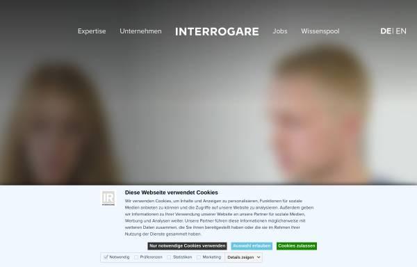 Vorschau von www.interrogare.de, Interrogare GmbH