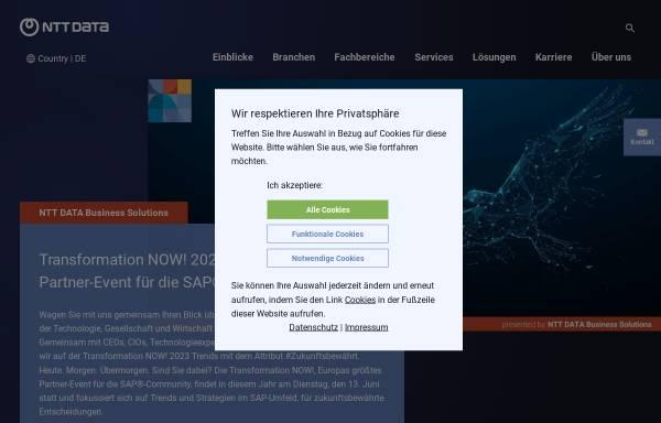Vorschau von itelligencegroup.com, Itelligence AG