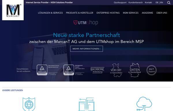 Vorschau von www.marcant.net, MarcanT InterNet-Services GmbH