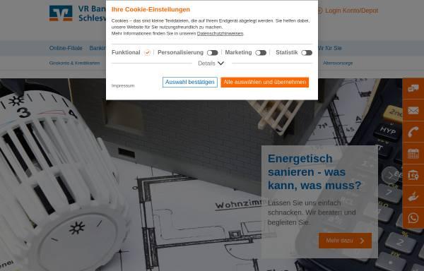 Vorschau von www.vrbank-rendsburg.de, Volksbank-Raiffeisenbank im Kreis Rendsburg eG