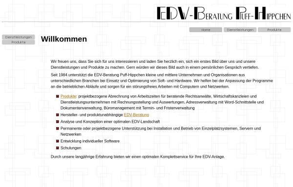 Vorschau von www.puff-hippchen.de, EDV-Beratung Puff-Hippchen