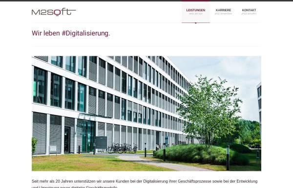 Vorschau von www.m2soft.com, M2Soft GmbH