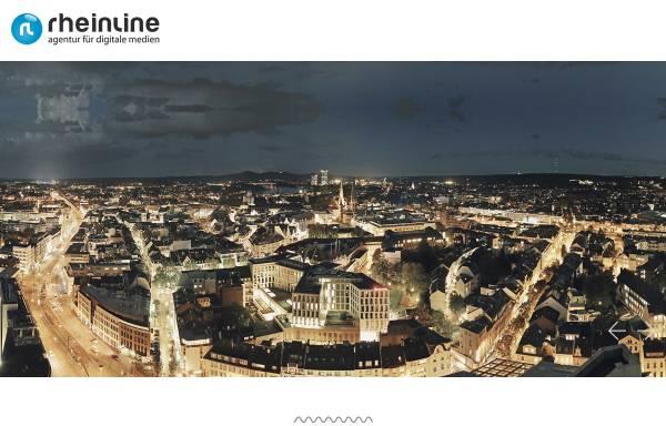 Vorschau von www.rheinline.de, rheinline - agentur für digitale medien