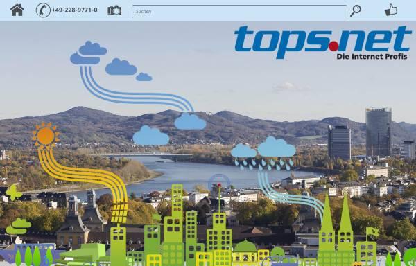 Vorschau von www.tops.net, tops.net GmbH & Co. KG