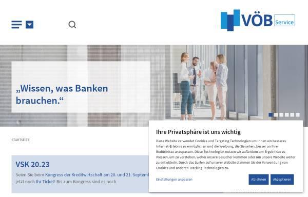Vorschau von www.voeb-service.de, VÖB-Service GmbH