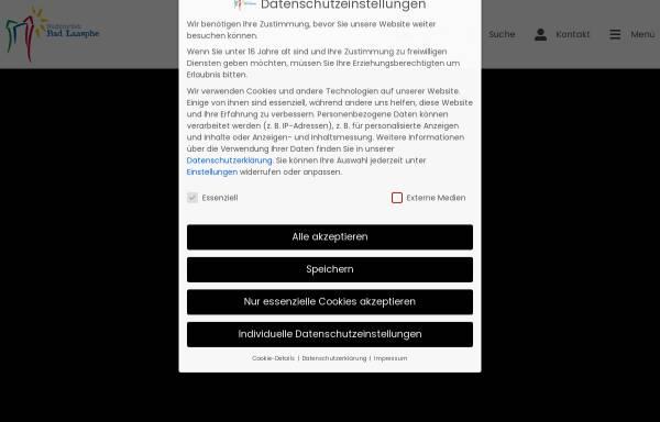 Vorschau von www.tourismus-badlaasphe.de, Bad Laasphe