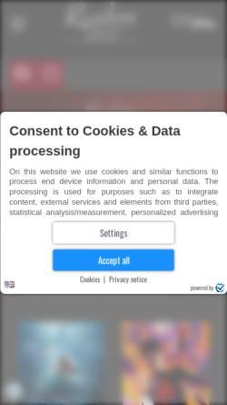 Vorschau der mobilen Webseite www.residenzkino.de, Residenz Theater Bad Laasphe