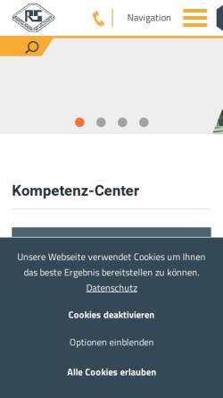 Vorschau der mobilen Webseite www.rasplie.de, Rampelmann & Spliethoff OHG