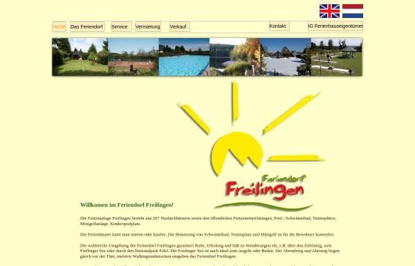 Vorschau von www.feriendorf-freilingen.de, Feriendorf Freilingen